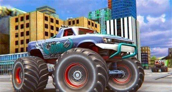 真正的怪物卡车